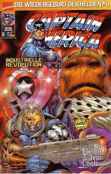Captain America 6 (2001): Maximale Sicherheit Variant