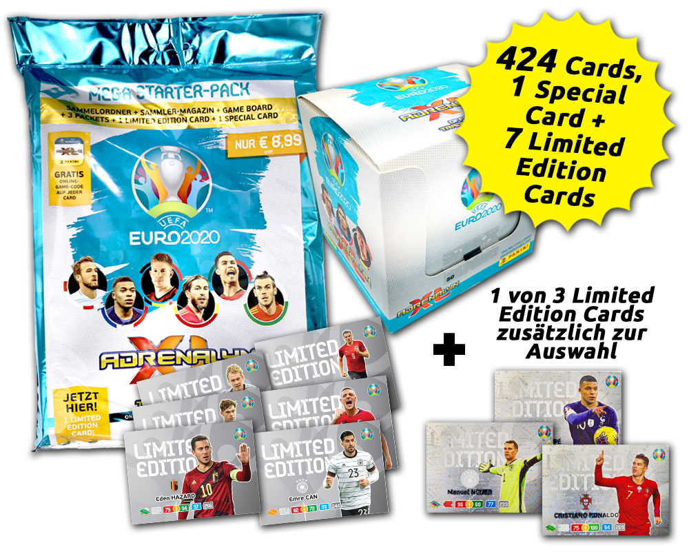 UEFA Euro 2020™ Adrenalyn XL Official Preview Collection - Super-Sammelbundle