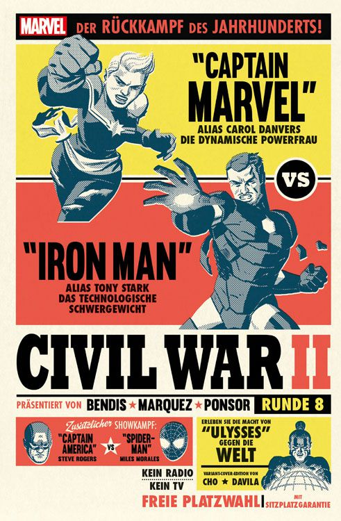 Civil War II Band 9 Variant
