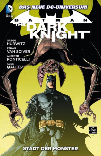 Batman: The Dark Knight Paperback 4: Stadt der Monster Hardcover