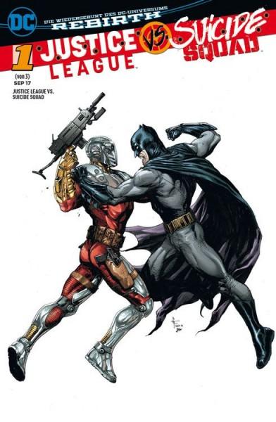 Justice League vs. Suicide Squad 1 Variant A