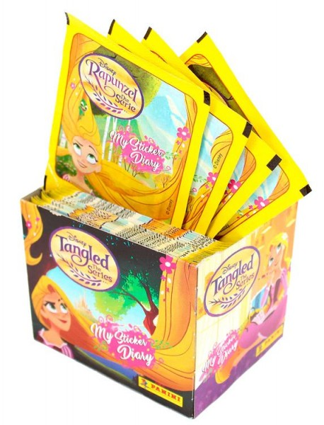Disney: Rapunzel - Stickerkollektion - Box