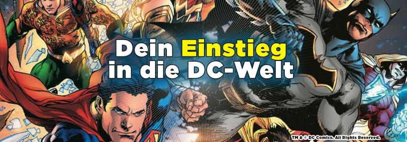 Dein Einstieg in die DC-Welt