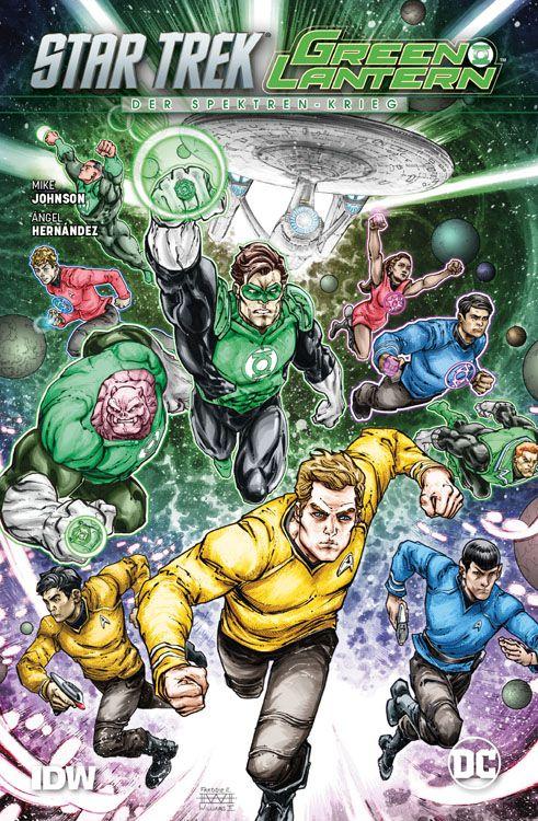 Star Trek/Green Lantern: Der...