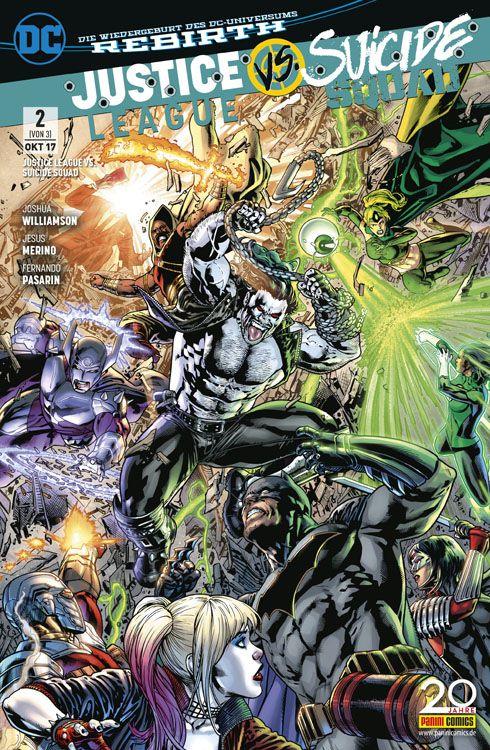 Justice League vs. Suicide Squad 2