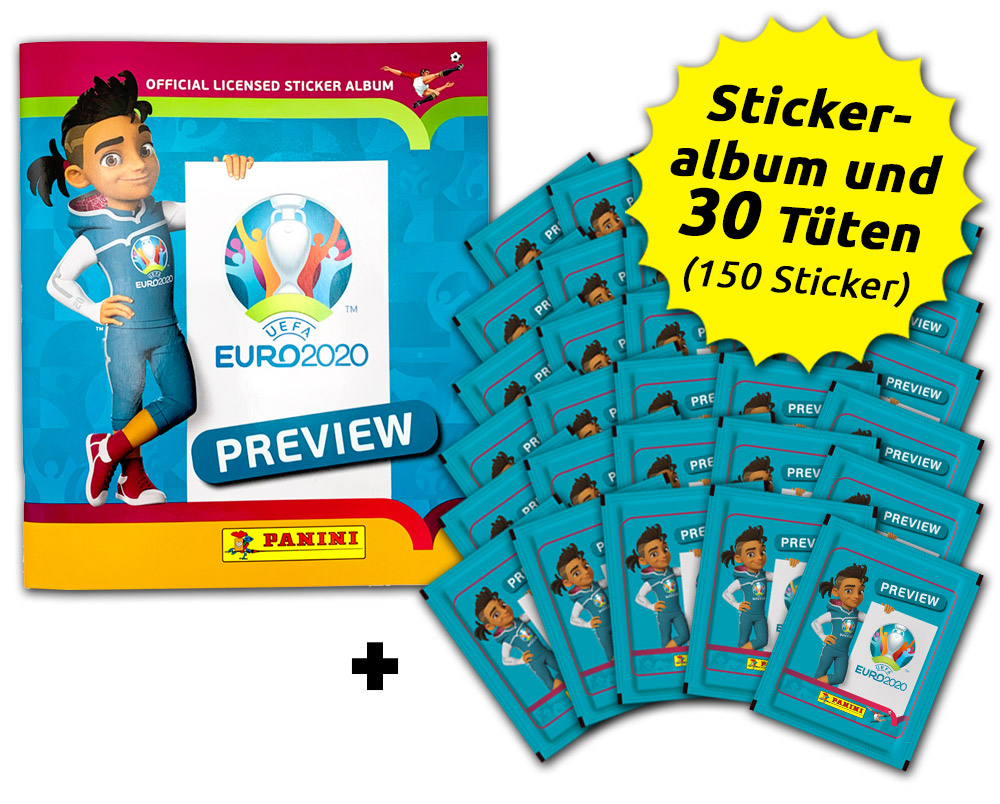 UEFA EURO 2020™ The Official Preview Collection - Sticker - Euro-Bundle