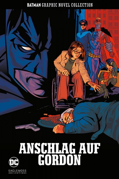 Batman Graphic Novel Collection 35: Anschlag auf Gordon Cover