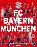 FC Bayern München: Offizielle Sticker- und Cards-Kollektion 2018/2019 - Album