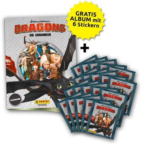 Dragons - Stickerkollektion - Sammelbundle