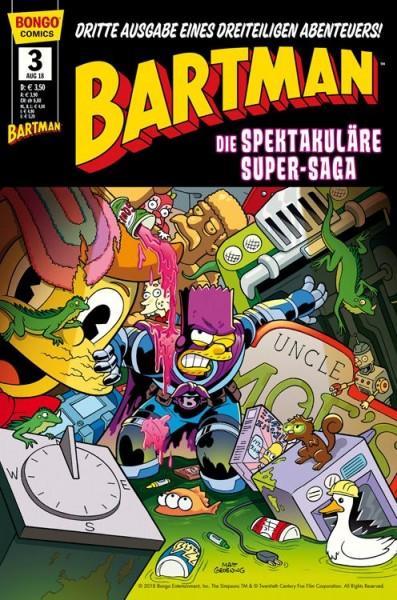 Simpsons Comics präsentiert - Bartman Trilogie 3