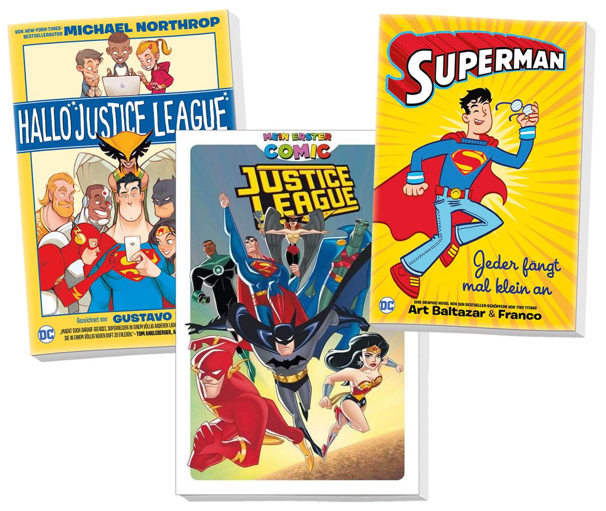 Justice League: Bundle für Kids