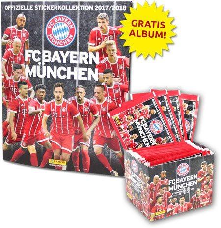 FC Bayern München 2017/2018 Stickerkollektion - Bundle 1