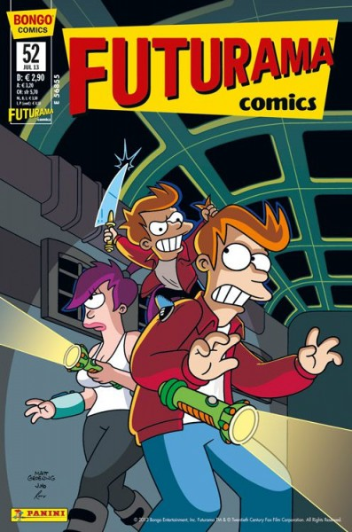 Futurama Comics 52