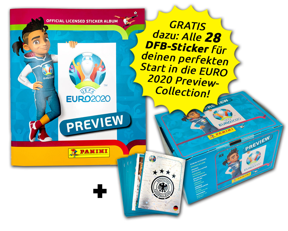 UEFA EURO 2020™ The Official Preview Collection - Sticker - Collector's Bundle