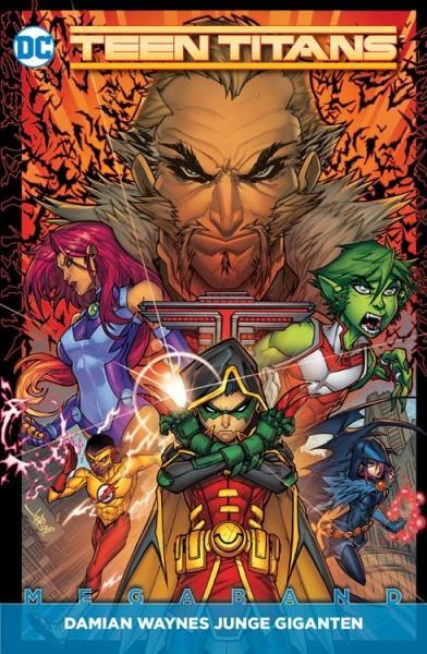 Teen Titans Megaband 1 - Damian Waynes Junge Giganten