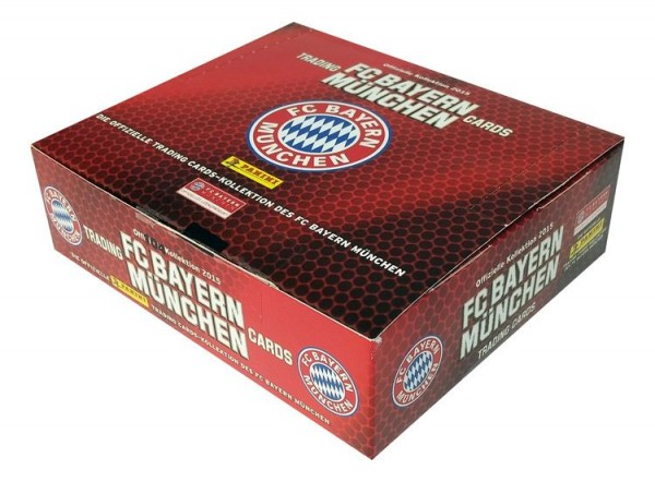 Bayern München Trading Cards Kollektion 2014/15 - Box mit 24 Tüten
