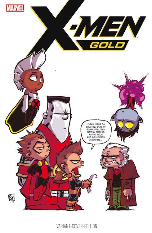 X-Men: Gold 1: Ein neuer Morgen Variant