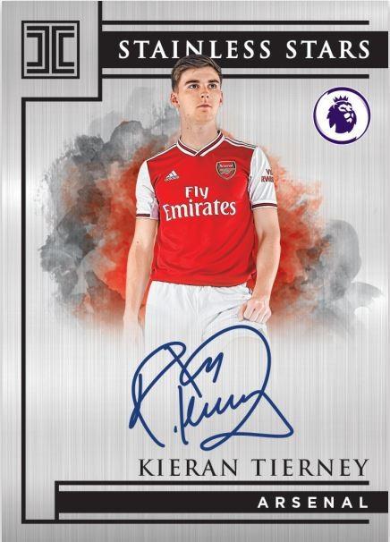 Panini Impeccable Soccer Premier League 2019/20 Trading Cards - Kieran Tierney