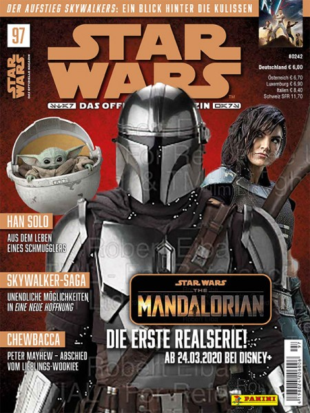 Star Wars Magazin Cover