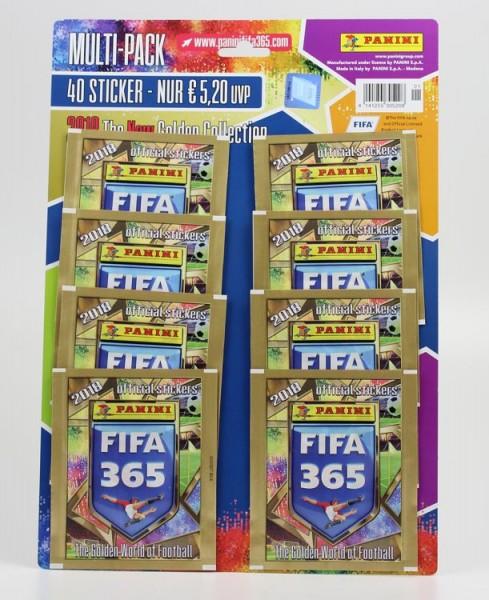 Panini FIFA 365 2018 Stickerkollektion - Multipack
