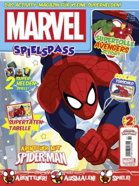 Marvel Spielspaß Magazin 2