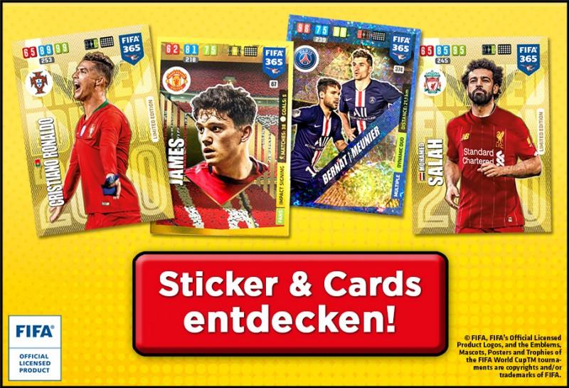 Fußballsticker Banner - Sticker & Cards entdecken!