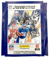 NFL 2019 Sticker & Trading Cards - Tüte
