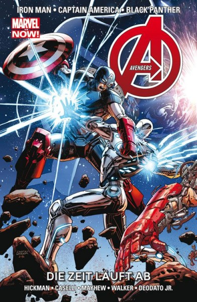 Avengers Paperback 9 (2014): Die Zeit läuft ab