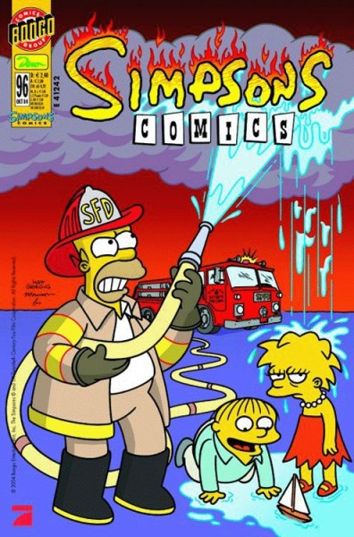 Simpsons Comics 96