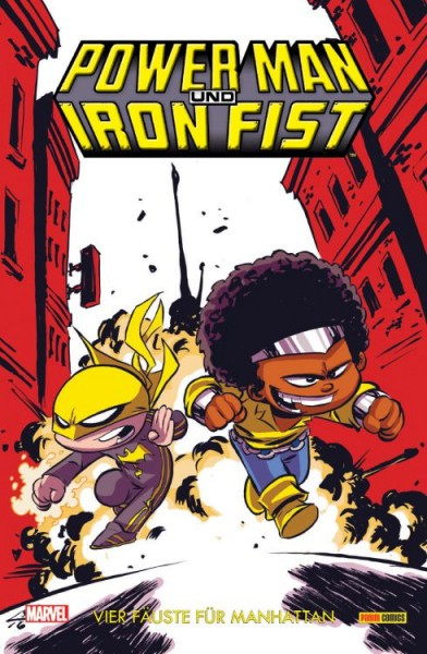 Power Man & Iron Fist 1: Vier Fäuste für Manhattan Variant