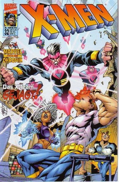 X-Men 32: Das X-Team...gejagt!