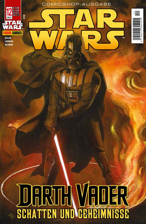 Star Wars 12 (Comicshop-Ausgabe)