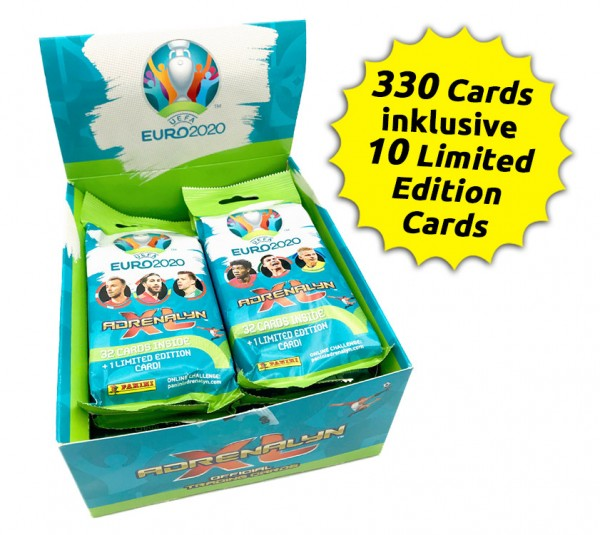 UEFA Euro 2020 Adrenalyn XL Fatpack Box