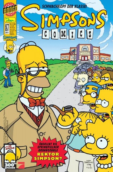 Simpsons Comics 87