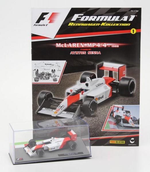 Formula 1 Rennwagen-Kollektion 1: Ayrton Senna (McLaren MP 4/4)