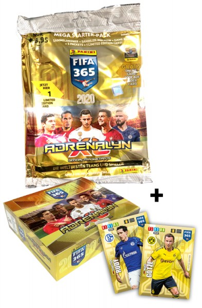 Panini FIFA 365 Adrenalyn XL 2020 Kollektion – Starter-Bundle 2