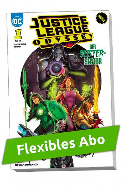 Flexibles Abo - Justice League Odyssey