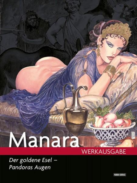 Manara Werksausgabe 17: Der goldene Esel - Pandoras Augen