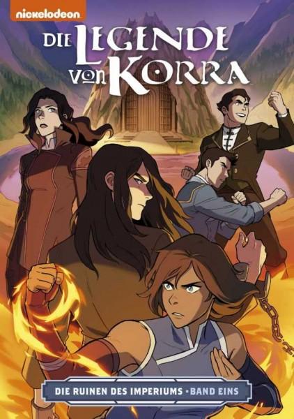 Die Legende von Korra 4: Die Ruinen des Imperiums 1 Cover
