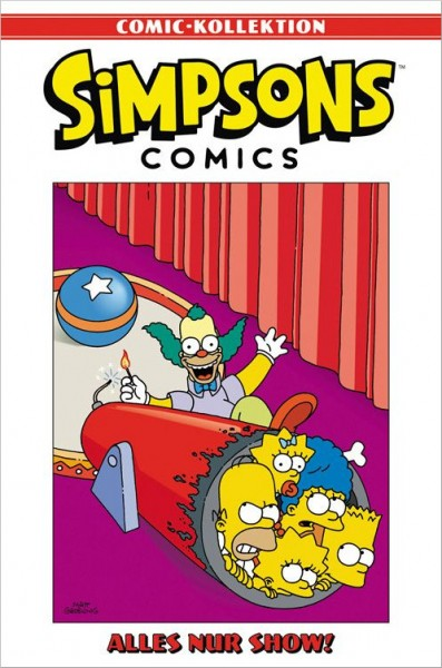 Simpsons Comic-Kollektion 30: Alles nur Show! Cover