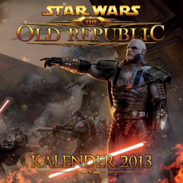 Star Wars: The Old Republic - Wandkalender (2013)