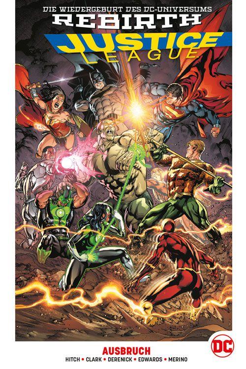 Justice League 2: Der Ausbruch Hardcover
