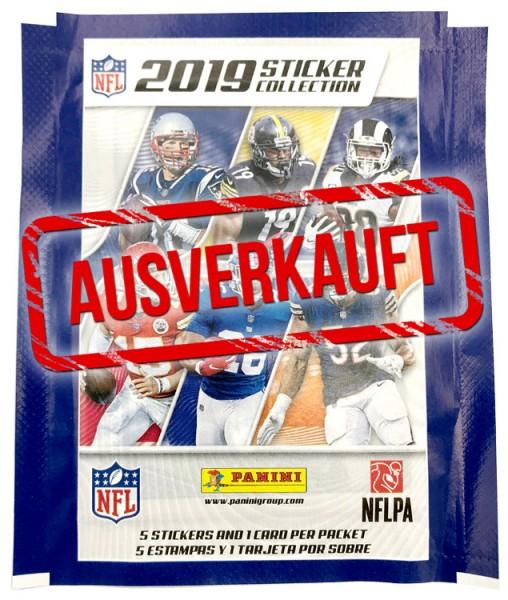 NFL 2019 Sticker & Trading Cards - Tüte - ausverkauft