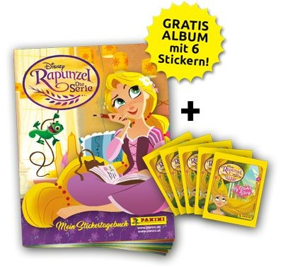 Disney: Rapunzel - Stickerkollektion - Bundle 2