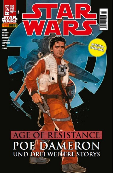 Star Wars 62: Age of Resistance - Poe Dameron & Special - Kiosk-Ausgabe Cover