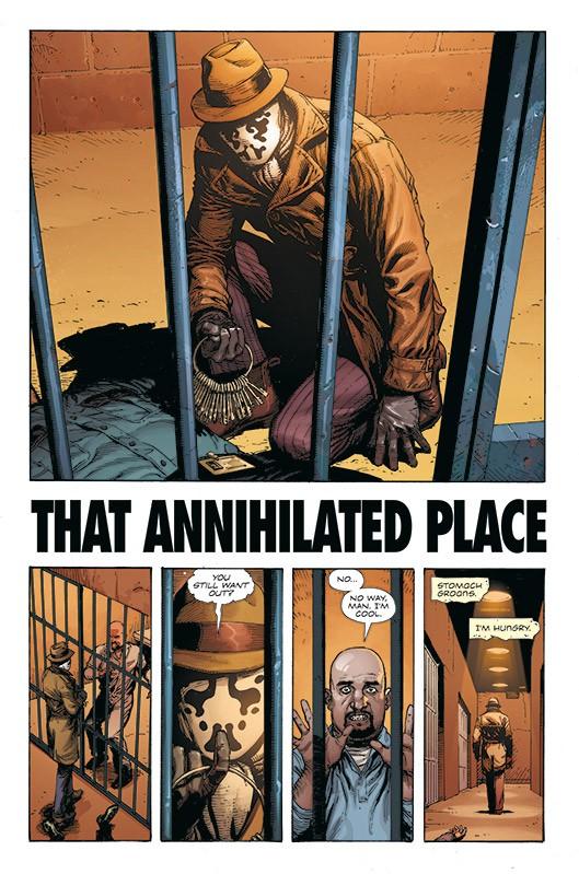 Doomsday Clock Blick in den Comic Vorschauseite 1