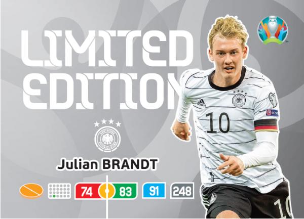 Euro 2020™ XXL LE-Card: Julian Brandt (Deutschland)