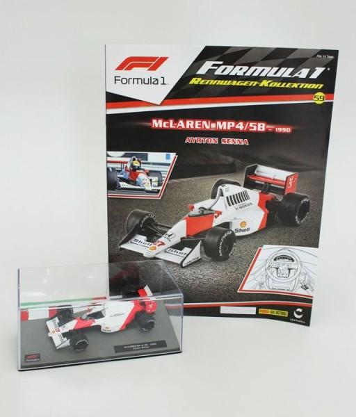 Formula 1 Rennwagen-Kollektion 59: Ayrton Senna (McLaren MP 4/5B)