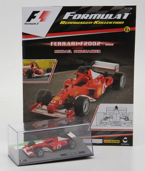 Formula 1 Rennwagen-Kollektion 6: Michael Schumacher (Ferrari F2002)