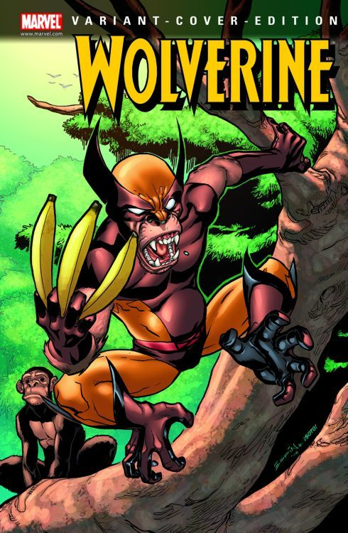Wolverine 4 Variant - Comic Action...